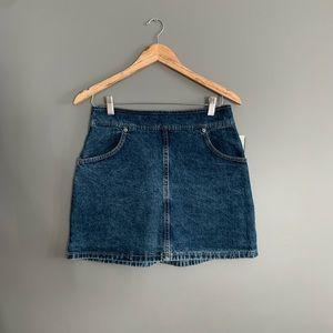 Dresses & Skirts - Peace x Piece Jean Mini Skirt